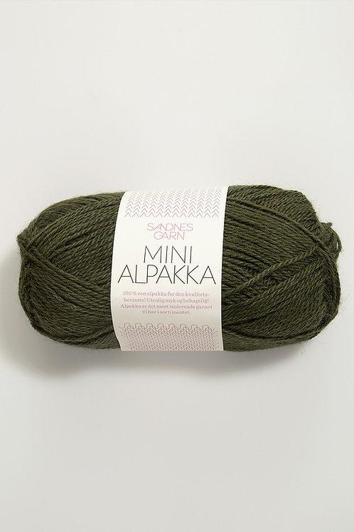 Mini Alpakka 9573 (Mossgrön)