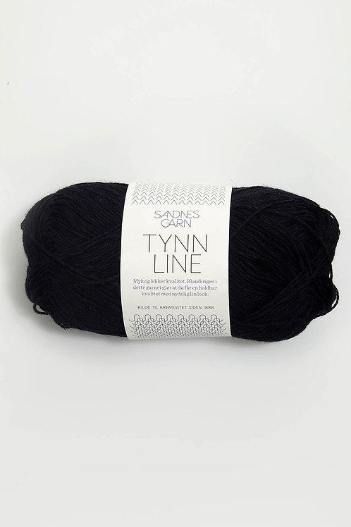 Tunn Line 1099 (Svart)