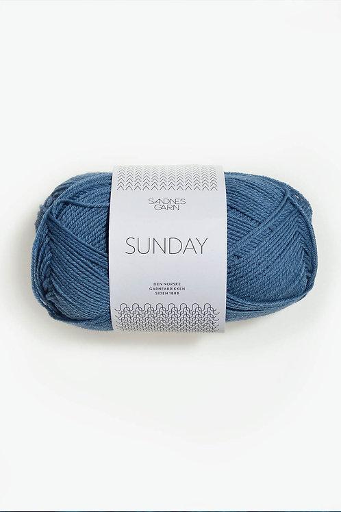 Sunday 6042 (Mörkt himmelsblå)