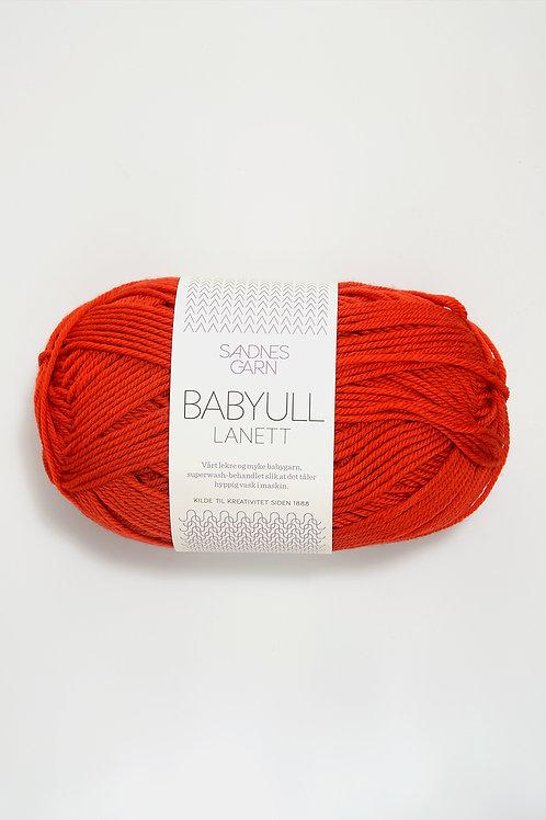 Babyull Lanett 3718 (Varmröd)