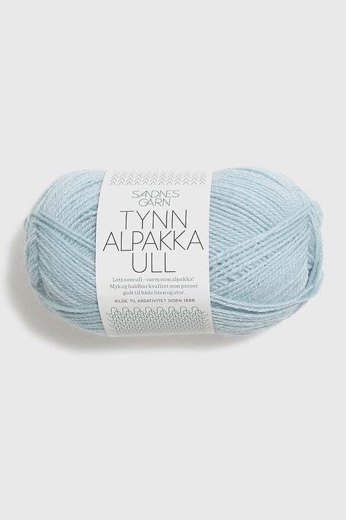 Tunn Alpakka Ull 6011 (Ljusblå)