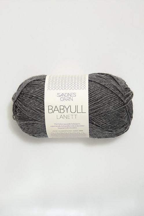Babyull Lanett 1053 (Mörk gråmelerad)