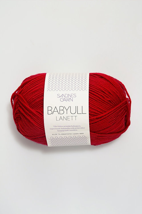 Babyull Lanett 4128 (Mörkröd)