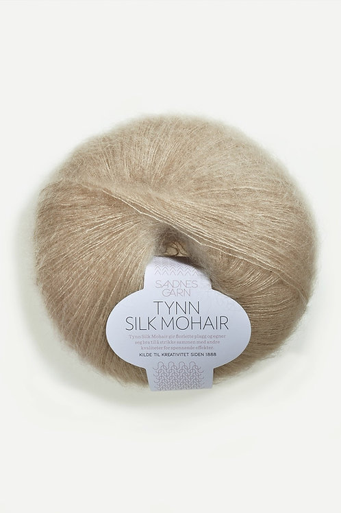 Tunn Silk Mohair 3021 (Ljusbeige)