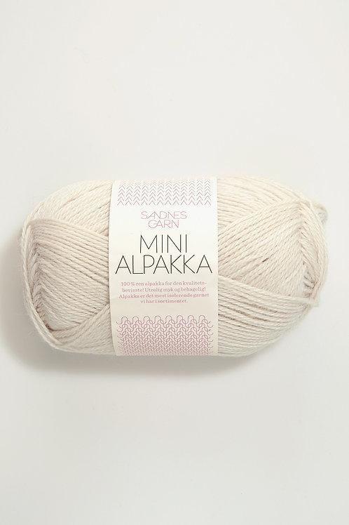 Mini Alpakka 1015 (Kitt)