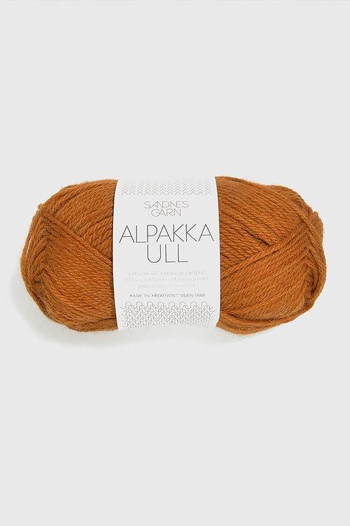 Alpakka Ull 2355 (Mörk ockra)