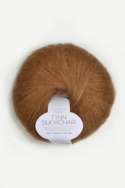 Tunn Silk Mohair 2543 (Brunt socker)
