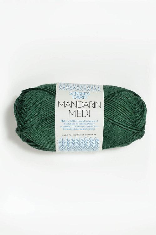 Mandarin Medi 8052 (Mörkgrön)
