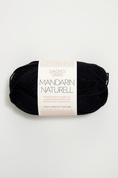 Mandarin Naturell 1099 (Svart)