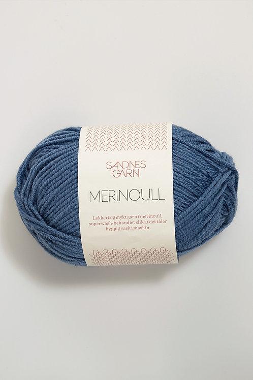 Merinoull 6052 (Jeansblå)