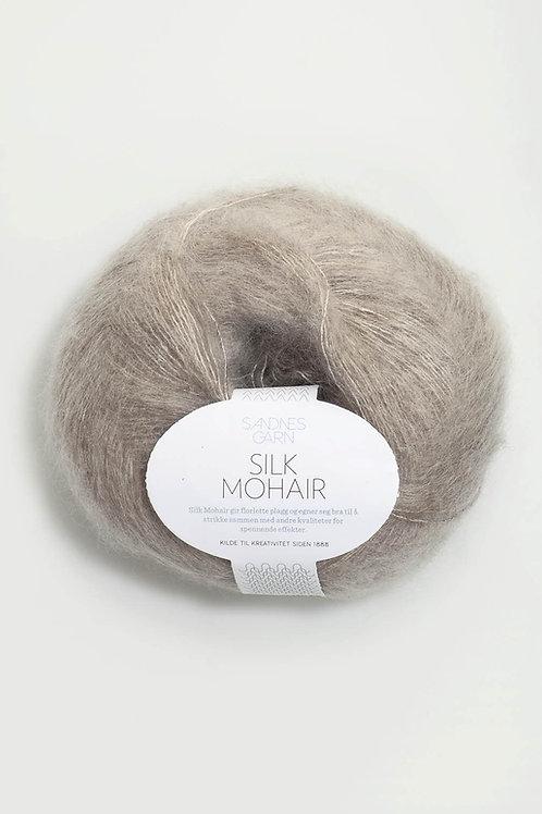 Silk Mohair 2650 (Beigemelerad)