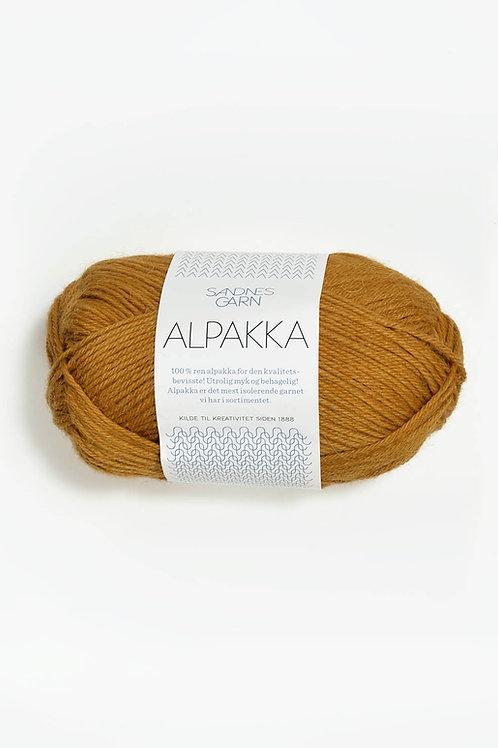 Alpakka 2335 (Senapsgul)