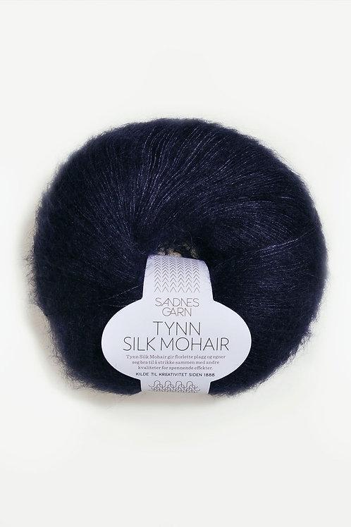 Tunn Silk Mohair 5581 (Djup marin)