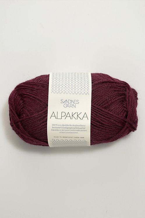 Alpakka 4554 (Plommon)