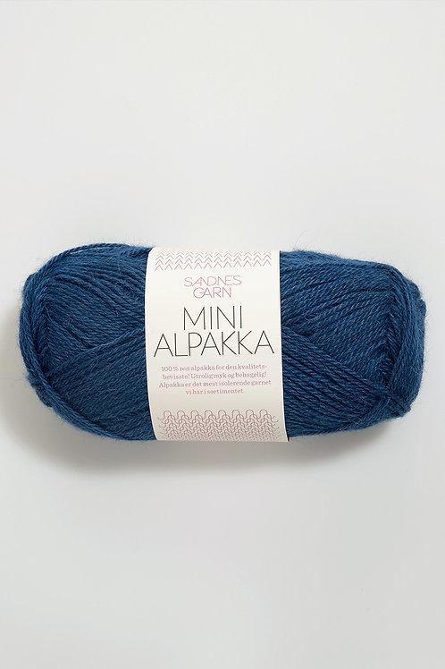 Mini Alpakka 6063 (Bläckblå)