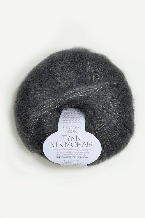 Tunn Silk Mohair 6707 (Stålgrå)