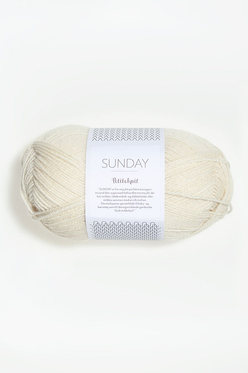 Sunday PetiteKnit 1012 (Whipped Cream)