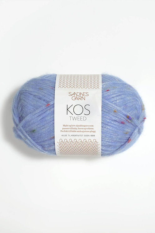 Kos Tweed 6004 (Ljusblå)