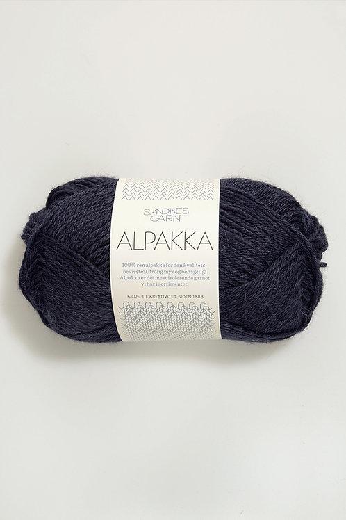 Alpakka 6081 (Djupblå)