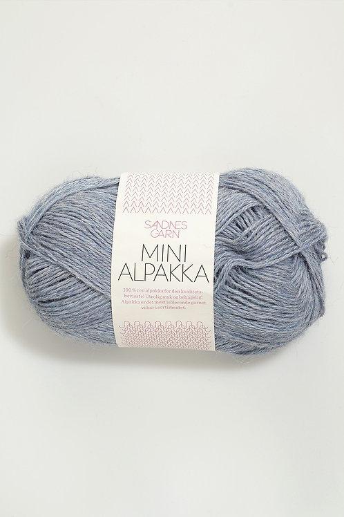 Mini Alpakka 6221 (Ljust blåmelerad)