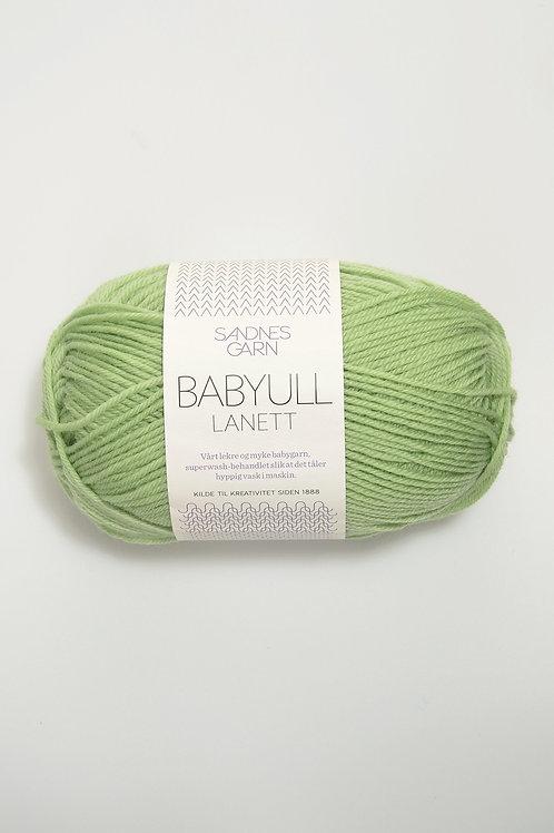 Babyull Lanett 8913 (Ljus äppelgrön)