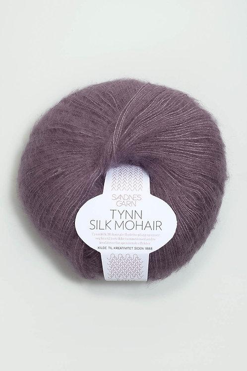 Tunn Silk Mohair 5042 (Bleklila)