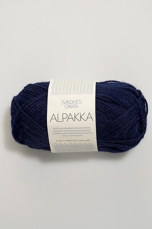 Alpakka 5575 (Marinblå)