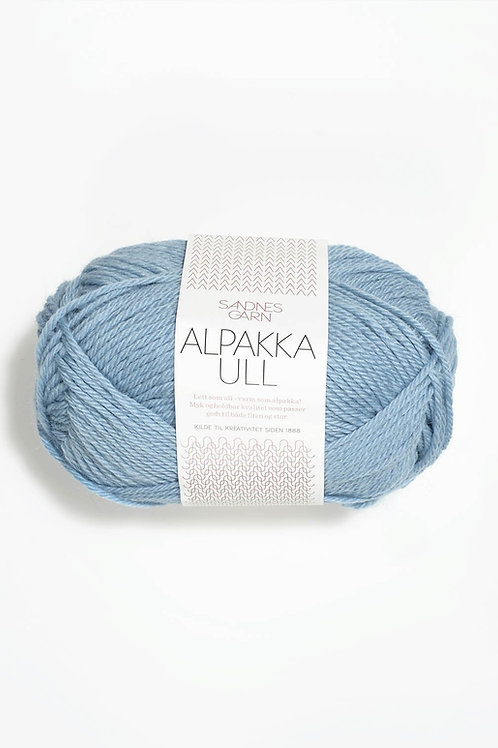 Alpakka Ull 6013 (Himmelsblå)