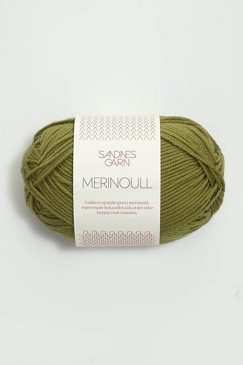 Merinoull 9336 (Olivgrön)