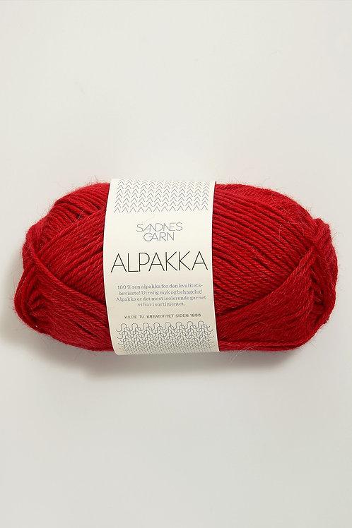 Alpakka 4219 (Röd)