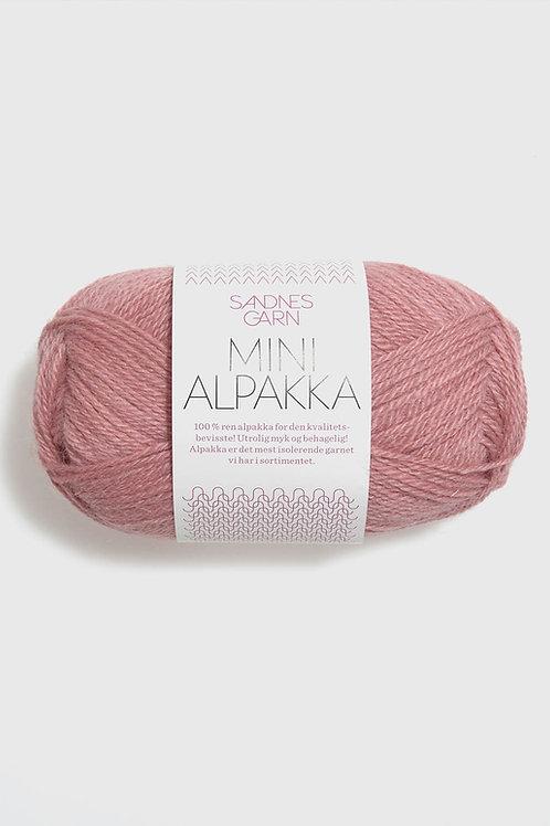 Mini Alpakka 4023 (Gammalrosa)