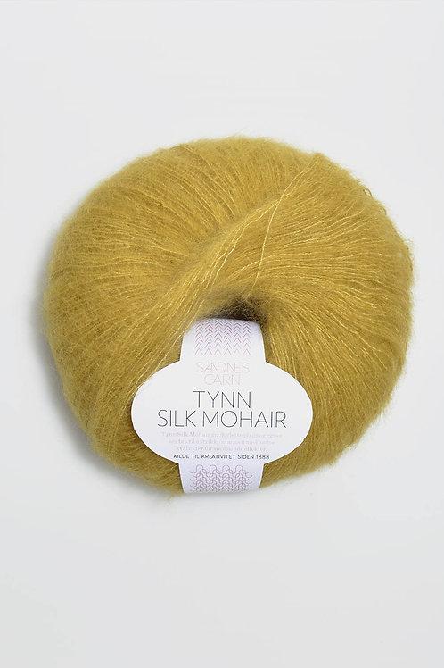 Tunn Silk Mohair 2024 (Gulgrön)