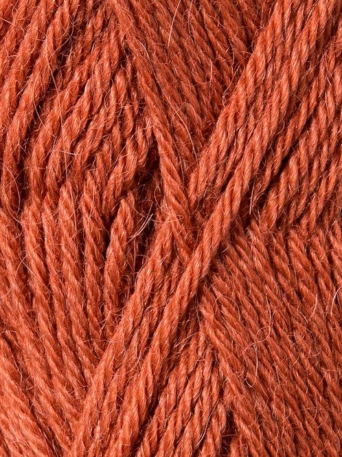 Alpakka Ull 3525 (Bränd orange)