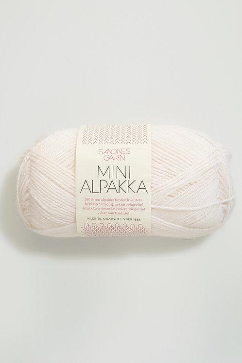Mini Alpakka 1001 (Vit)
