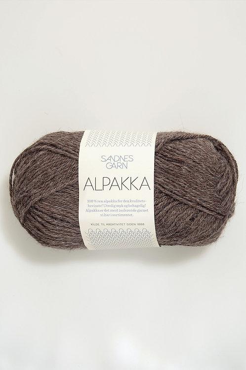 Alpakka 2652 (Mellanbrunmelerad)