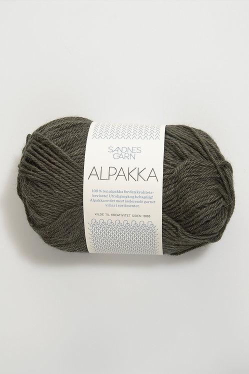 Alpakka 9581 (Mörk khaki)