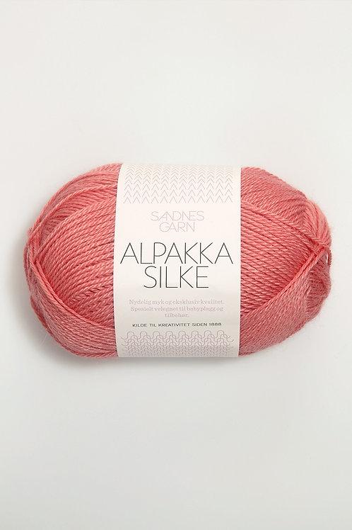 Alpakka Silke 4316 (Dov korall)