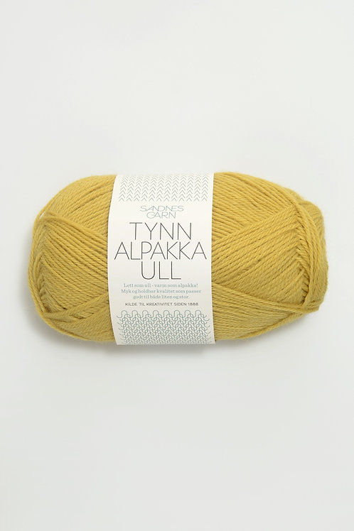 Tunn Alpakka Ull 2015 (Majsgul)