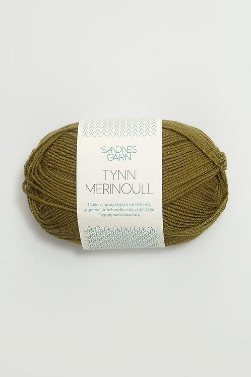 Tunn Merinoull 9644 (Mossgrön)