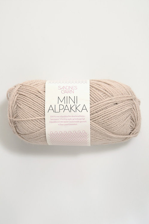 Mini Alpakka 2521 (Sand)