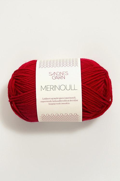 Merinoull 4219 (Röd)