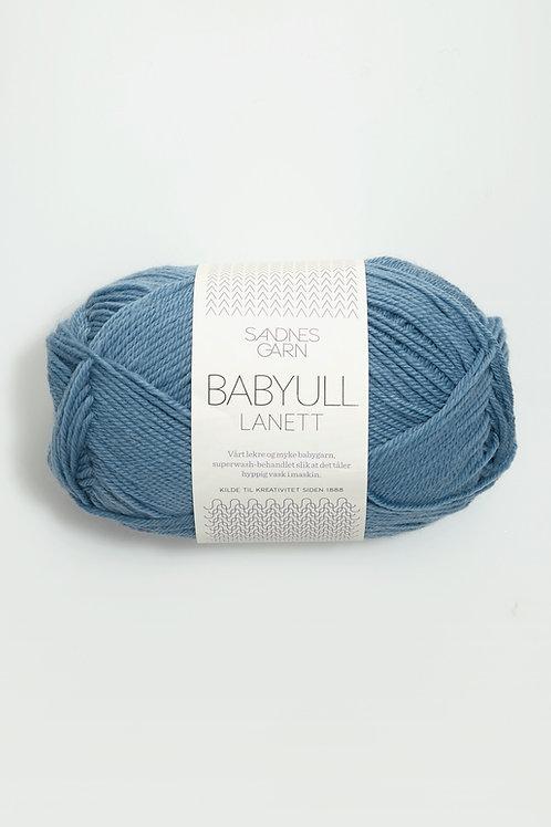Babyull Lanett 6033 (Mellanblå)