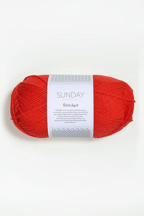 Sunday PetiteKnit 3819 (That Orange Feeling)