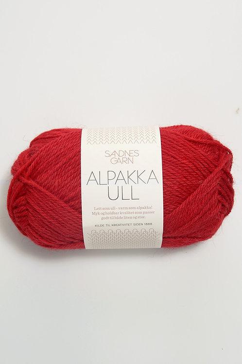 Alpakka Ull 4219 (Röd)