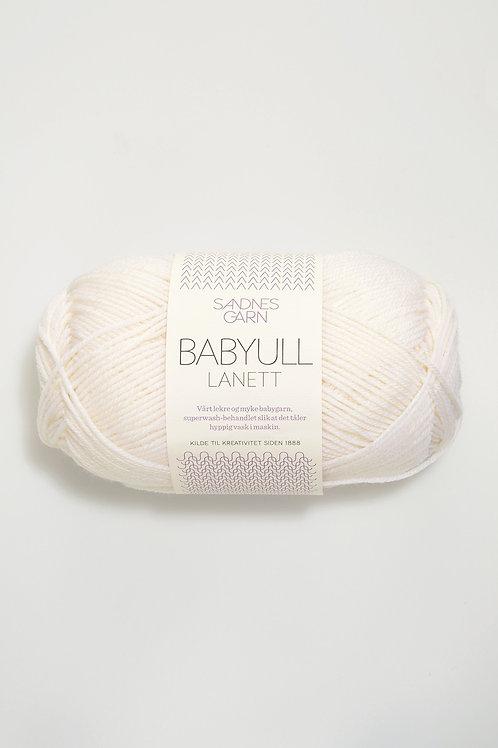 Babyull Lanett 1001 (Vit)