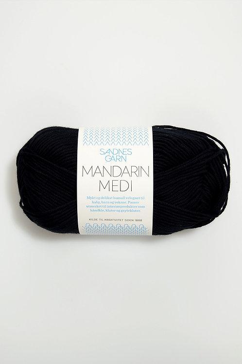 Mandarin Medi 1099 (Svart)