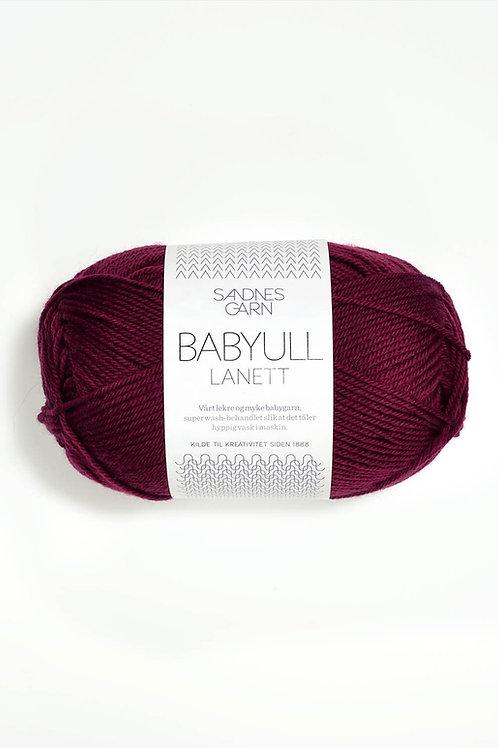 Babyull Lanett 4345 (Vinröd)