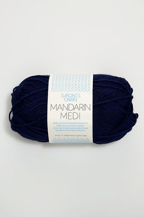 Mandarin Medi 6073 (Marinblå)
