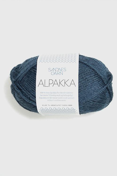 Alpakka 6572 (Mörkt blåmelerad)
