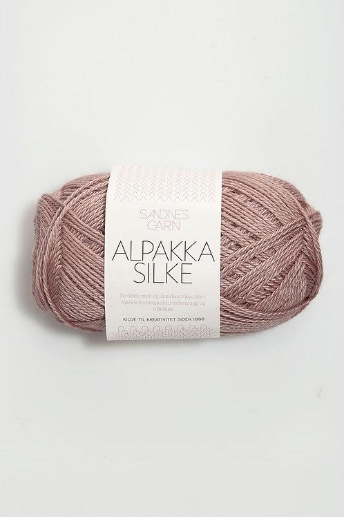 Alpakka Silke 4331 (Gammalrosa)